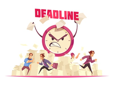 Deadline in office