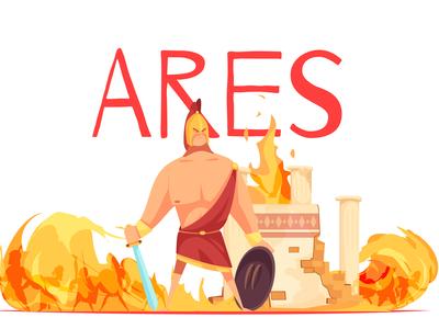 Ancient greece god of war