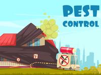 Pest control outside