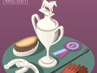 Equestrian sport composition