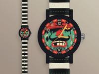Pirate 🏴☠️ Watch watch pirate illustrated illustration