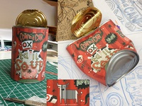 'COW in a CAN' Ox Tail Soup packaging