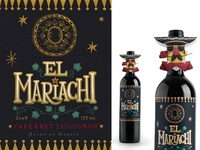 El Mariachi Label and Neck-hangers