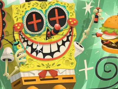 Picante SpongeBob - Gallery Nucleus Tribute Show