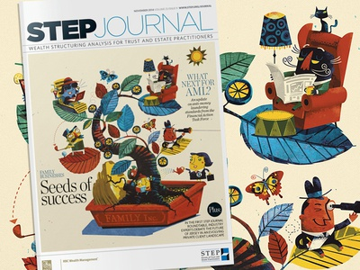 STEP journal finished cover