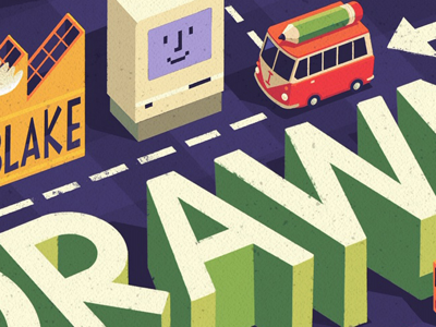 Detail 3 hand lettering procreate book cover illustration