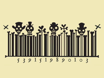 Illustrated barcode illustration fun illustrated barcode