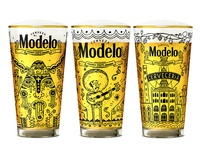 Limited Edition Modelo Beer Glass