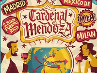 Golden Week - Cardenal Mendoza ILLUSTRATED POSTER