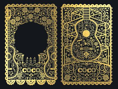 Coco dayofthedead papelpicadi illustration illustrator