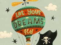 Let Your Dreams Fly - detail 2