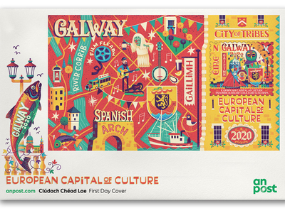 Galway 2020 ireland galway2030 galway stamp