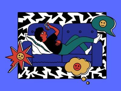 Illustration for Snob blogs #1