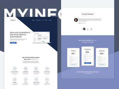 MyInforce Landing page