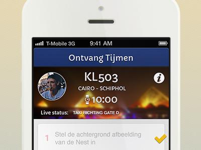 Schiphol Nest App By Julian Neef Dribbble Dribbble