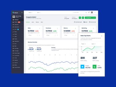 HiliteUI Responsive Bootstrap Admin Template