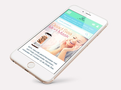 Activates Dribbble Cases Acne mobile online graphic design webshop responsive ux design