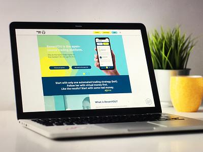 Webdesign created for RevenYOU. Go Prosper ux artdirection responsive webdesign