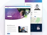Silva Care Website - UI Design
