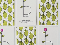 Bloom Business Cards