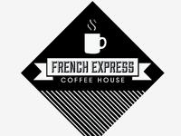 French Express Coffee Logo