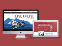 Evel Knievel Website