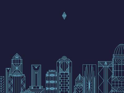Rooftop Skyline