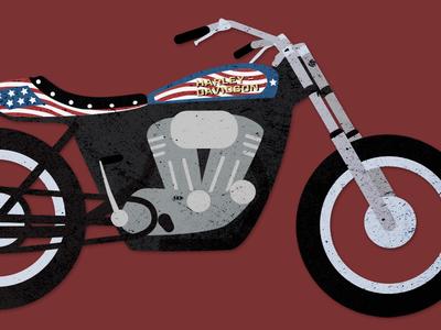Evel Knievel's XR750