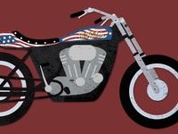 Evel Knievel's XR750