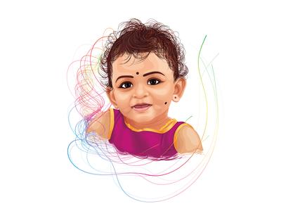 1st Birthday Portrait | ima vimal