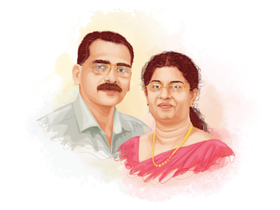 Anniversary Caricature
