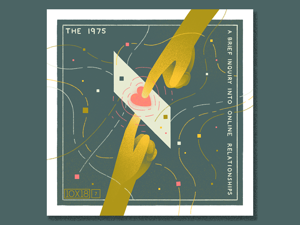 10x18 No 7 The 1975 A B I I O R By Katie Chandler Dribbble