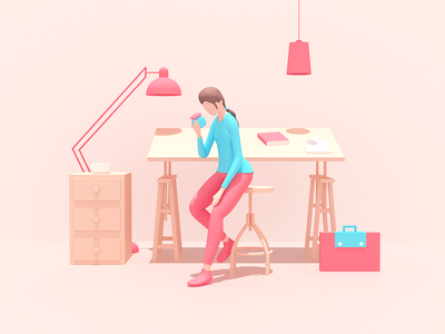 Looking for good energy source? app landing web infographic flat illustration character design 3d illustration