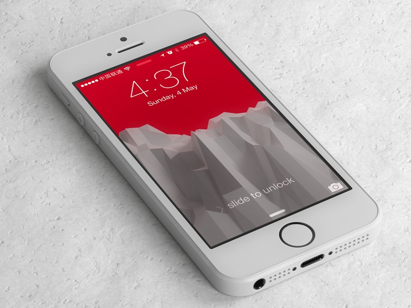 free iPhone 5s template free freebie iphone template 3d