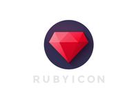Rubyicon logo
