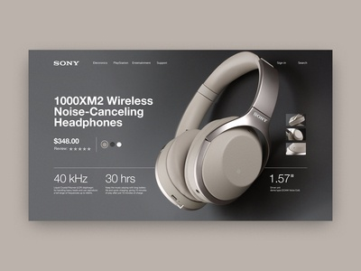 Sony — page of product