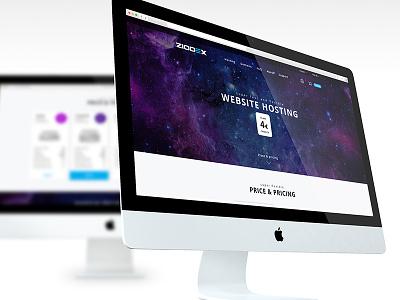 Ziodex hosting web design design web ux ui