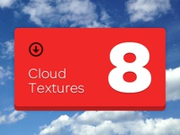 8 Cloud Textures – Entire Package