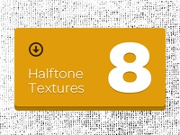 8 Halftone Textures – Entire Package