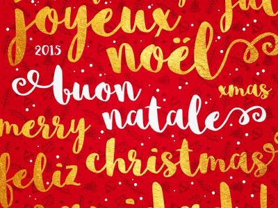 Merry Christmas to you all! xmas typography texture snow script post pattern handlettering golden gold font christmas