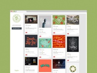 "I am on ""MadeWithCreativeMarket"" gallery!"