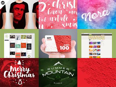 2016 Best Nine! typography society6 pattern overlays isometric icons handwriting handlettering gift card eyewear creativemarket best nine