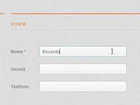 Web design – Form mail