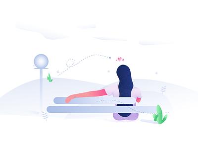 Freebie - Chilling illustration illustration character chilling freebie