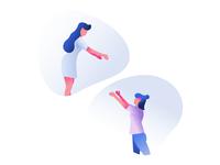 Freebie - Teamwork illustration