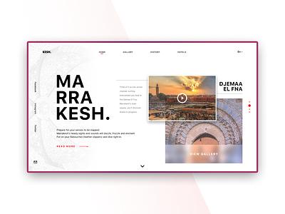 KESH. - minimal interface°03 uiux ux user experience user interface ui website