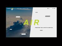 F-TEAM Website Preview / Air
