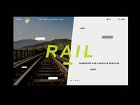F-TEAM Website Preview / Rail