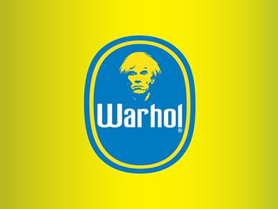 Warhol Chiquita andy warhol pop art banana icon print poster