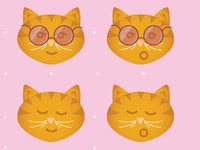 Smiling Kitty Face Sunnies